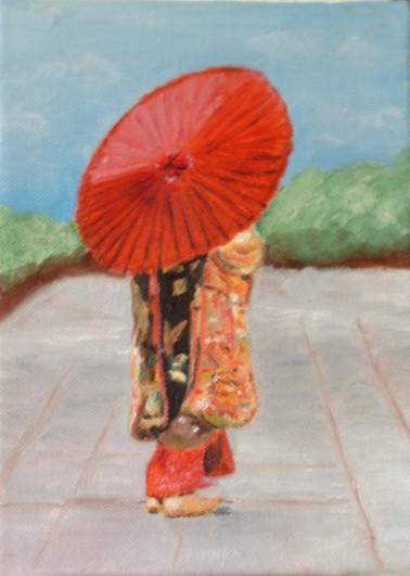 Geisha De Dos galerie peinture :. .: photos de peintures yves :.